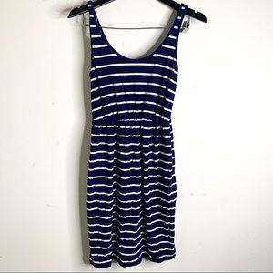 3/$25 Old Navy Blue Striped Tank Top Dress